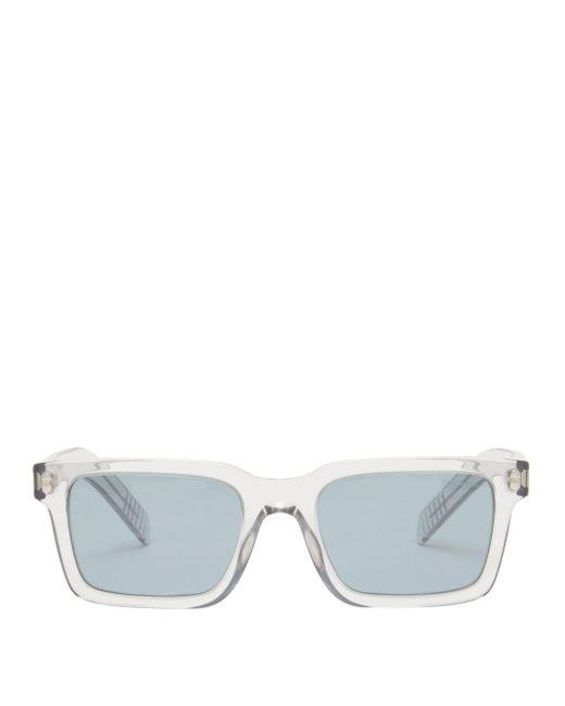 Prada Multicolor Square Acetate Sunglasses for men