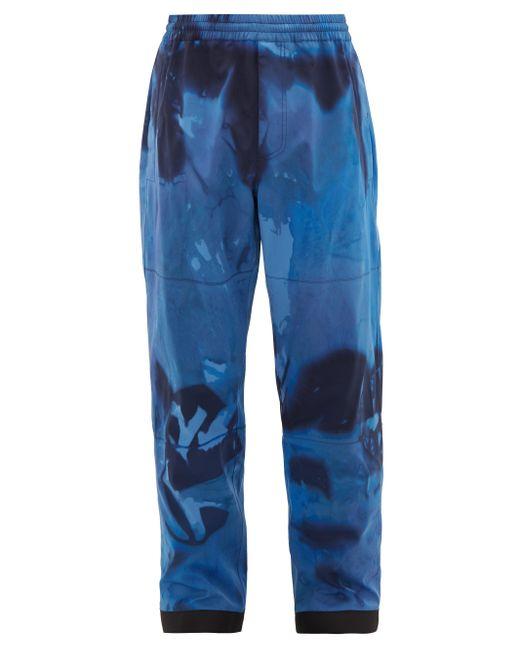メンズ 3 MONCLER GRENOBLE タイダイ テクニカル スキーパンツ Blue