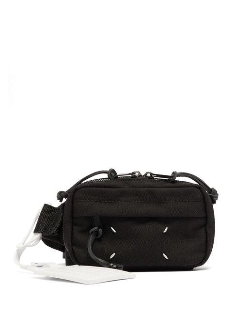 Maison Margiela Black Technical-twill Belt Bag for men