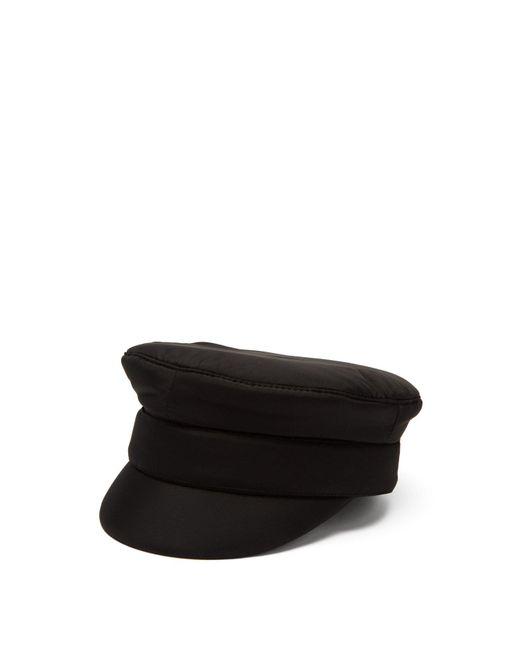 Ruslan Baginskiy Black Padded Bakerboy Cap