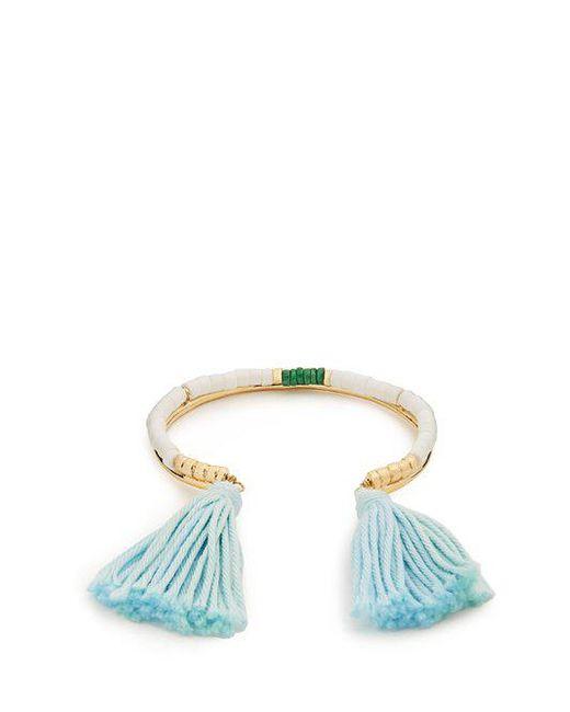 Sioux gold-plated tassel cuff Aur 2de1y4