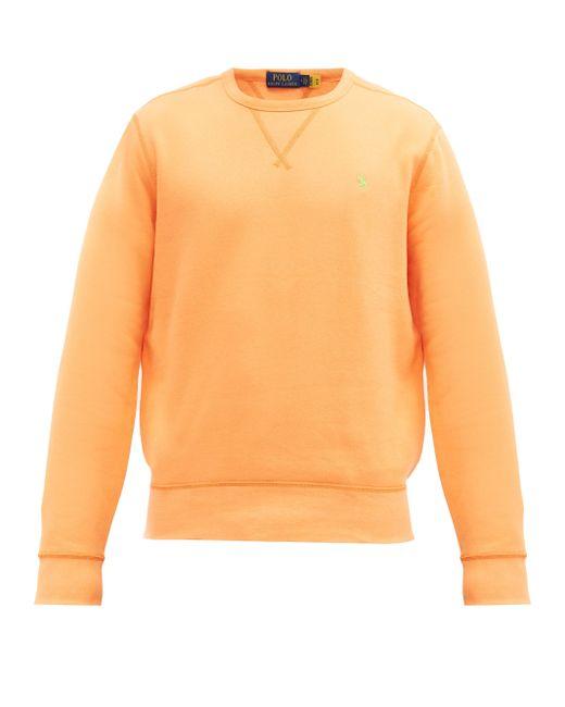 メンズ Polo Ralph Lauren コットンブレンドスウェットシャツ Orange