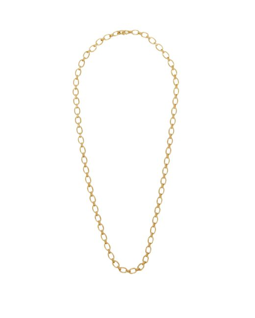 Irene Neuwirth Metallic Oval Link 18kt Gold Necklace