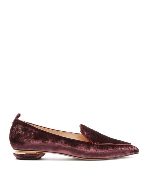Nicholas Kirkwood - Multicolor Beya Crushed Velvet Loafers - Lyst