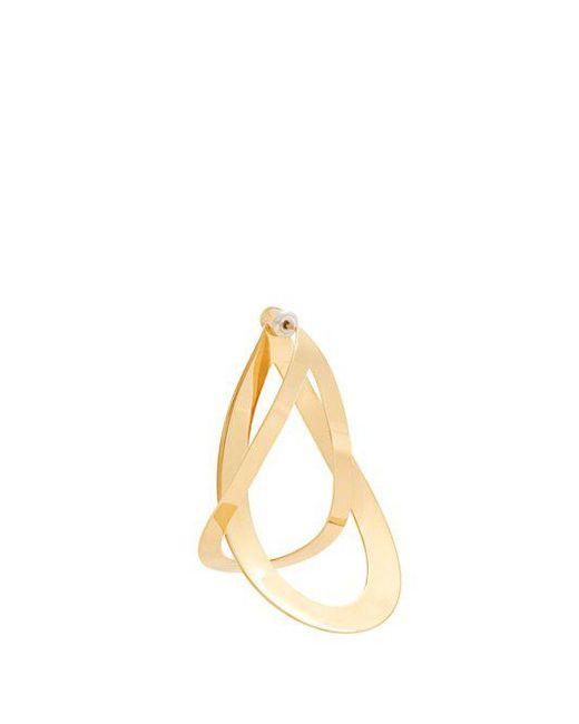 Charlotte Chesnais - Metallic Slide Sterling-silver Earrings - Lyst