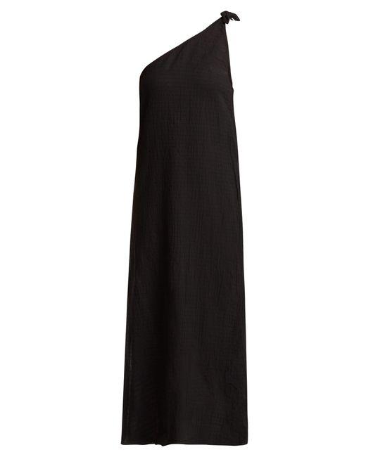 Mara Hoffman - Black Camilla Organic Cotton One Shoulder Dress - Lyst