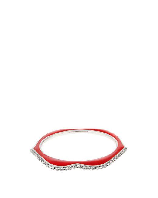 Raphaele Canot - Metallic Omg! Diamond, Enamel & White Gold Ring - Lyst