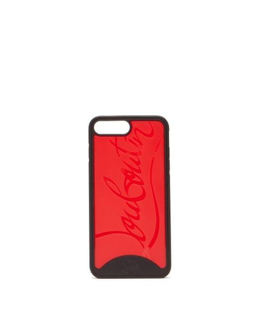Christian Louboutin Loubiphone Sneakers Iphone 7plus&8plus ケース Red