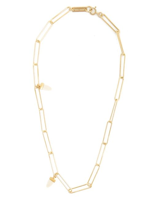Isabel Marant | White It's All Right Shark's-tooth Necklace | Lyst