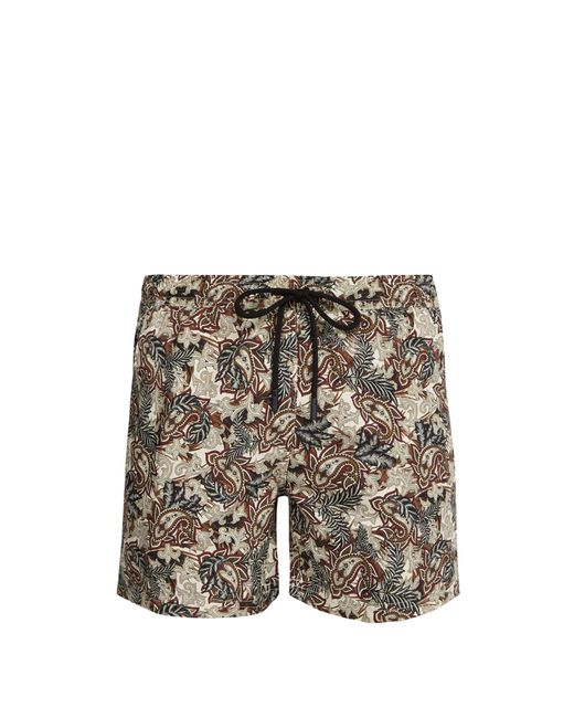 Etro - Multicolor Short de bain à imprimé cachemire for Men - Lyst