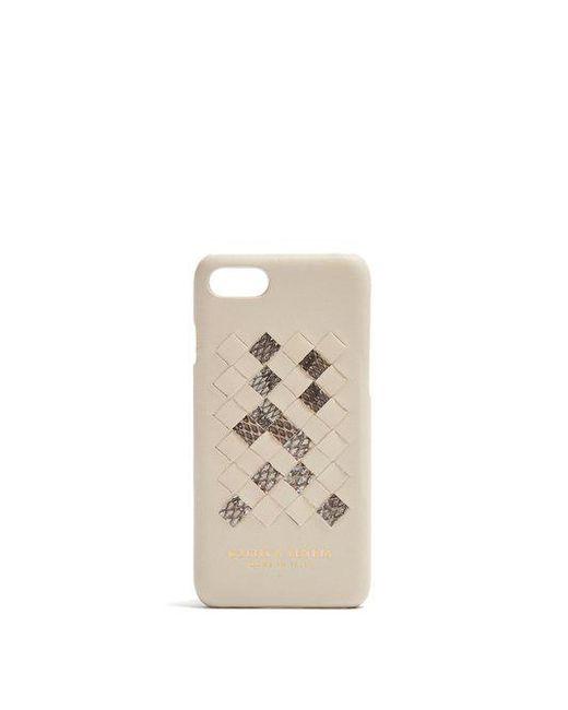 Bottega Veneta - Multicolor - Intrecciato Leather Iphone® 7 Case - Womens - Cream Multi - Lyst