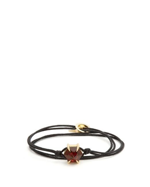 Ara Vartanian - Red X Kate Moss Garnet & Yellow-gold Bracelet - Lyst