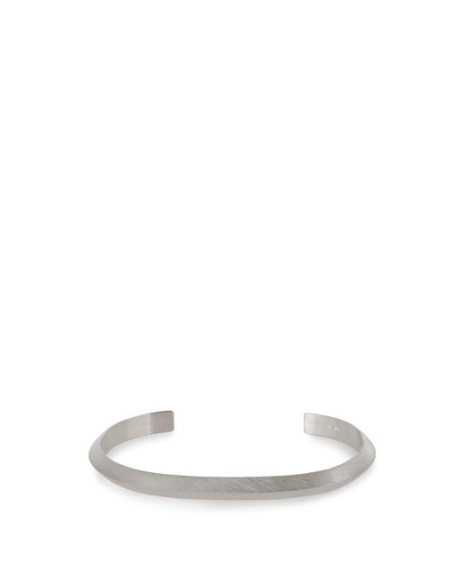 All_blues | Metallic Traingle Sterling-silver Cuff for Men | Lyst