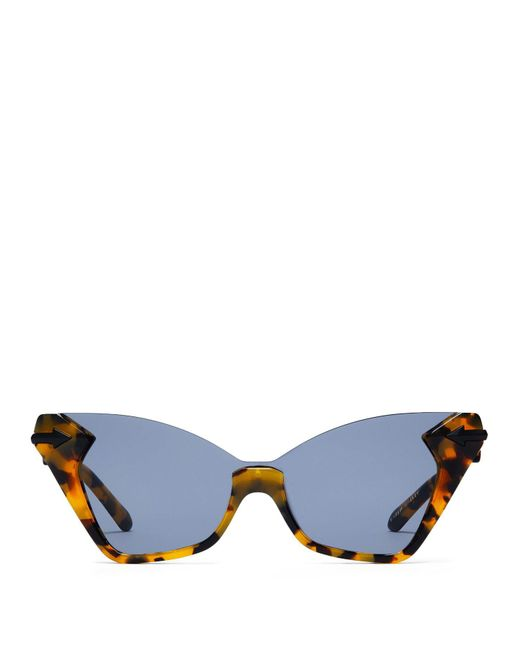 Karen Walker - Multicolor Sweet Tortoiseshell Cat Eye Sunglasses - Lyst