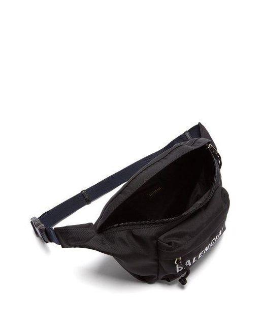 Logo-embroidered belt bag Balenciaga venk6