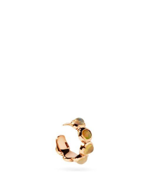 Jacquie Aiche オパール 14kローズゴールドイヤーカフ Multicolor