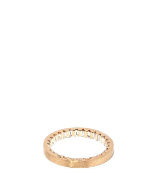 メンズ Le Gramme 3g ダイヤモンド 18kゴールドリング Multicolor