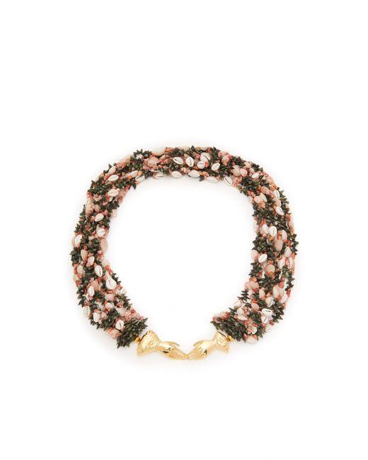 Heimat Atlantica - Metallic Marta Shell Embellished Necklace - Lyst