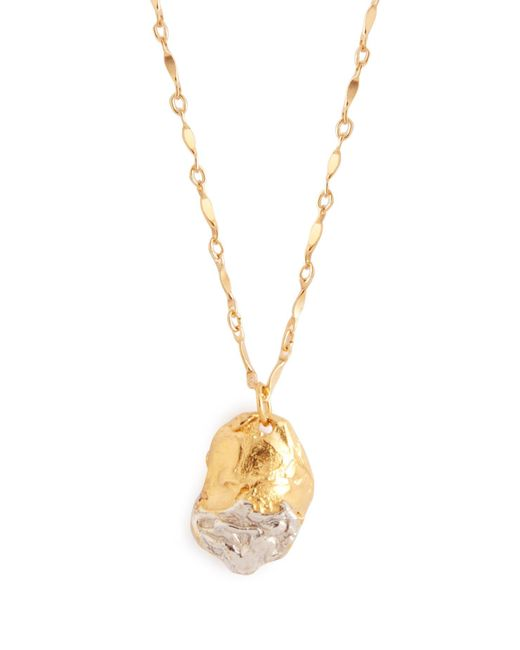 Alighieri Metallic The Tale Of Bea 24kt Gold Plated Necklace