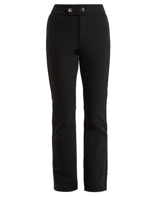 Bogner - Black Emilia Kick Flare Stretch Jersey Ski Trousers - Lyst
