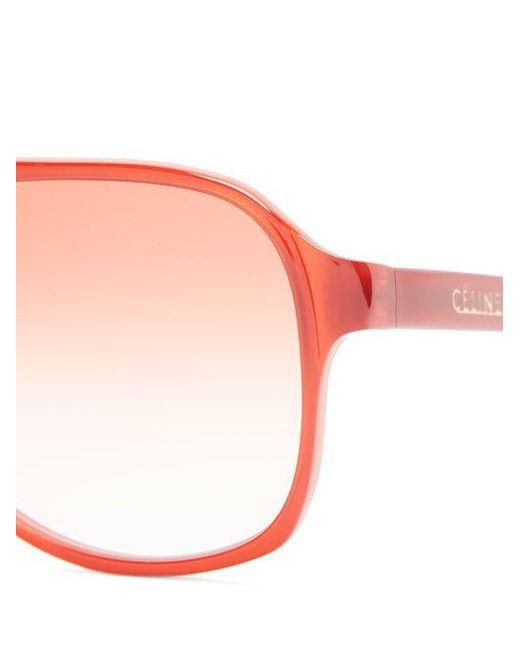 Navigator aviator-frame sunglasses Celine olRibcn6px