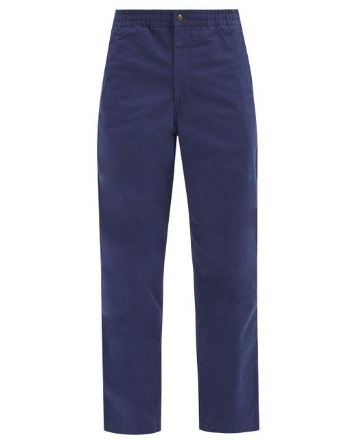 メンズ Polo Ralph Lauren プレプスター コットンパンツ Blue