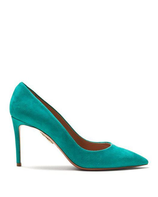 Simply Irresistible 85mm suede pumps Aquazzura Clearance Store For Sale Hyper Online Factory Price ybAmLHIA