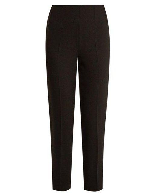 Cheap Choice Outlet Store Cheap Online Arabella Wool-crepe Slim-leg Pants - Black Emilia Wickstead Free Shipping Huge Surprise Cheap Amazon MW4x6EkUJ