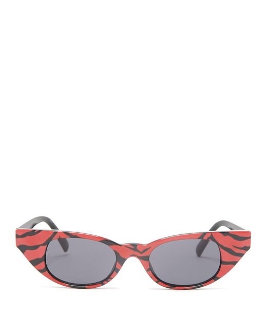 Le Specs - Multicolor The Breaker Tiger-print Acetate Sunglasses - Lyst