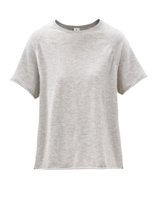 Extreme Cashmere トッド カシミアtシャツ Gray