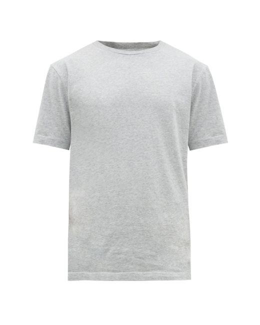 メンズ Acne エベレスト コットンtシャツ Gray