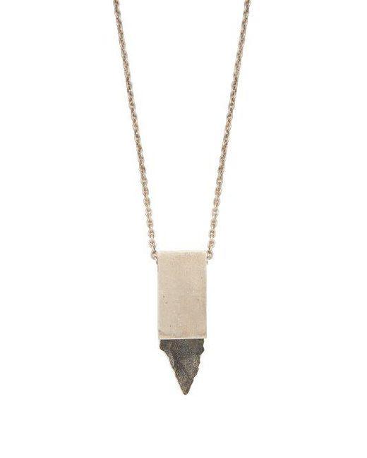 Amulet Flèche Parties De Collier Cuboïde De Quatre OZAqnZzko