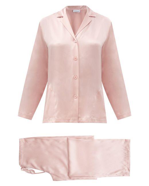 La Perla シルクサテン パジャマ Pink