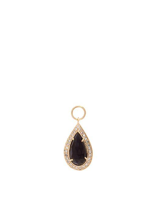Jacquie Aiche ダイヤモンド&オニキス 18kゴールドチャーム Multicolor
