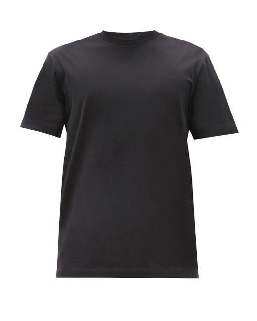 メンズ Acne エバーリック コットンtシャツ Black