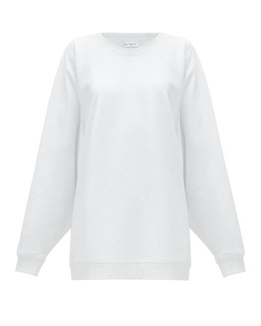 Raey リサイクルコットンブレンド スウェットシャツ White