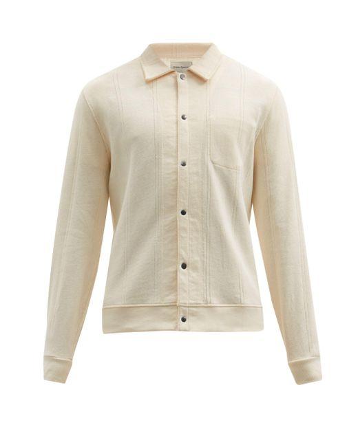 メンズ Oliver Spencer ランデル オーガニックコットン ポロシャツ Natural