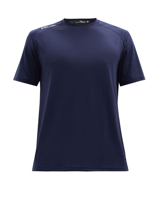 メンズ Polo Ralph Lauren クルーネック パフォーマンスtシャツ Blue