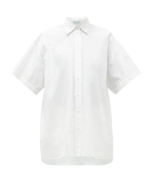 Raey オーバーサイズ コットンシャツ White