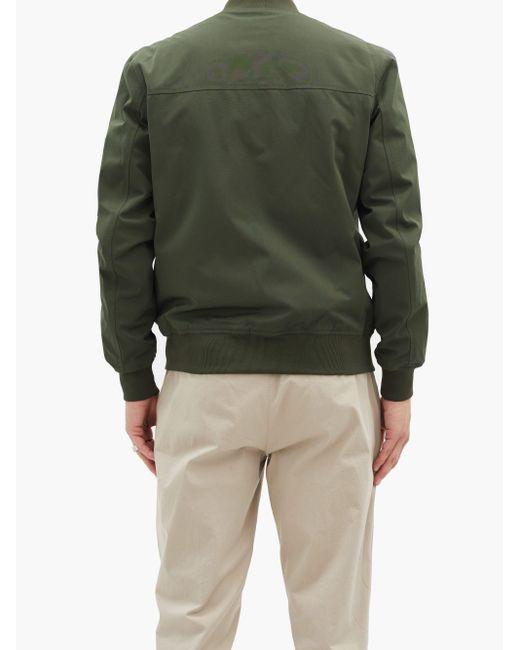 メンズ A.P.C. ボンバージャケット Green