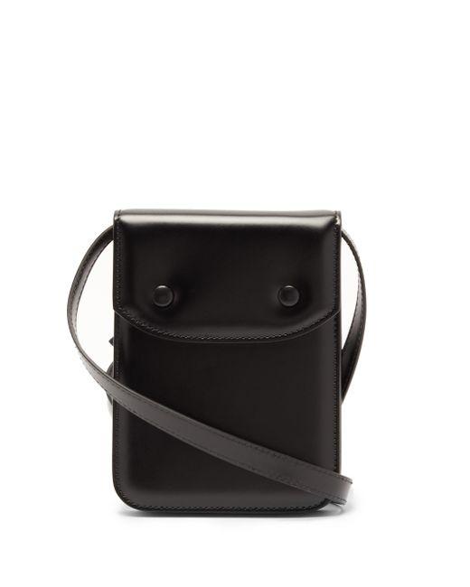 メンズ Maison Margiela レザーバッグ Black