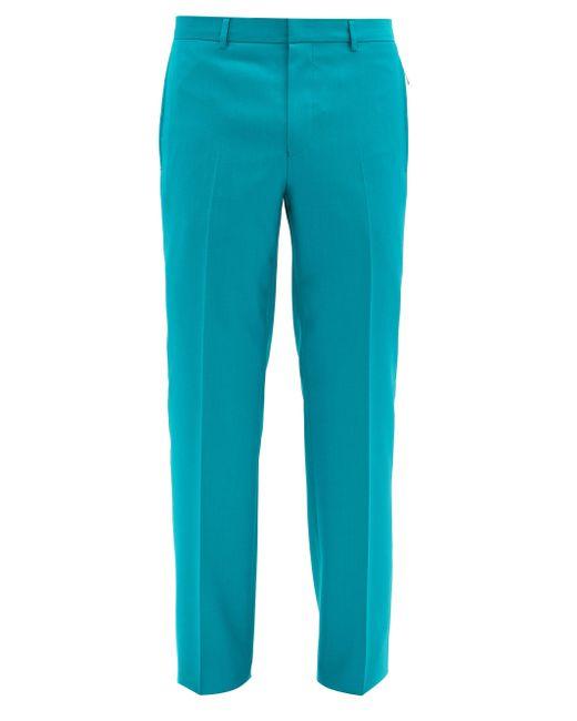 メンズ Givenchy ウールスリムパンツ Blue