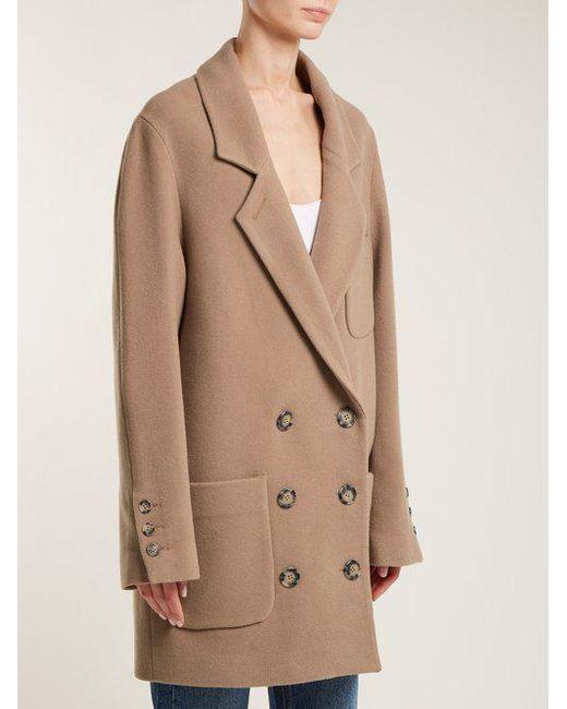 Cheap Sale Outlet Store Oversized cashmere-blend jacket Raey Factory Outlet Online ZTj7V