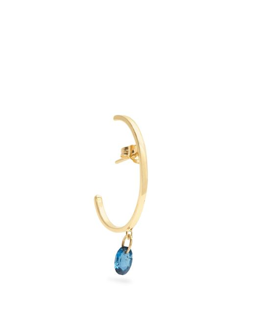 Loren Stewart   Metallic Topaz & Yellow-gold Earring   Lyst