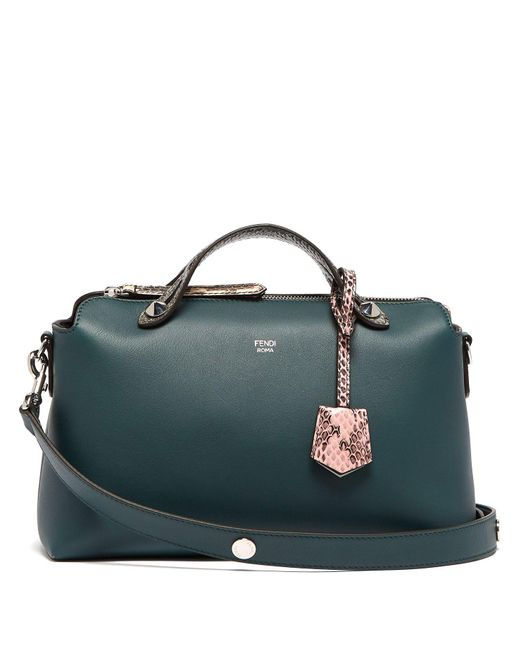 Fendi Multicolor By The Way Leather And Ayers Cross Body Bag