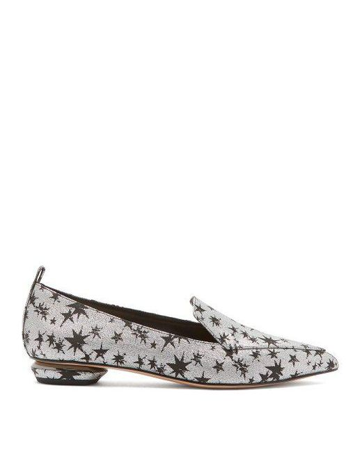 Marketable Cheap Price Cheap Big Discount Beya star-jacquard loafers Nicholas Kirkwood Supply YgGg9AyFwl