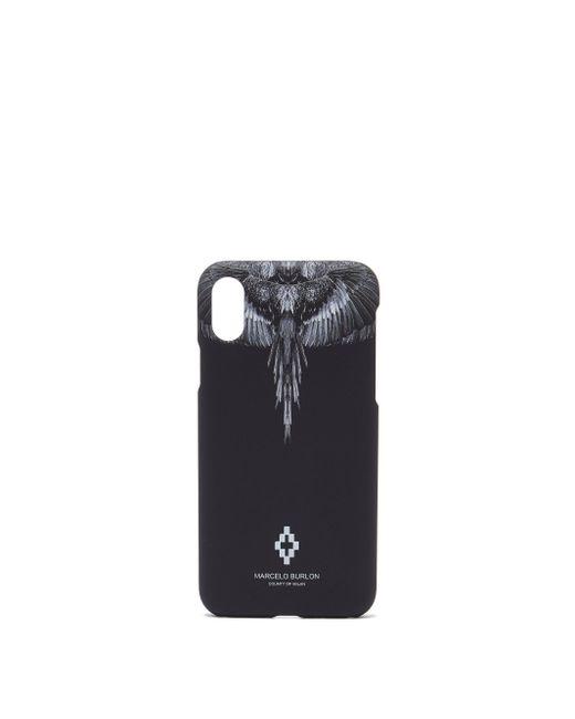 メンズ Marcelo Burlon Iphone® Xs ケース Black