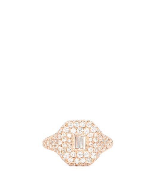 SHAY エッセンシャル ダイヤモンド 18kローズゴールドリング Multicolor