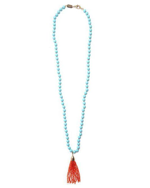 Rosantica By Michela Panero - Blue Himalaya Stone-embellished Necklace - Lyst