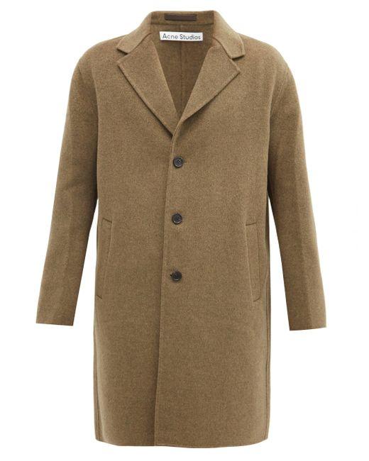 メンズ Acne ダリ ウール シングルコート Multicolor